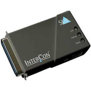 SEH PS105 Print Server - 1 x 10/100Base-TX Network, 1 x Parallel - 10Mbps, 100Mbps