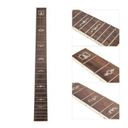 41 Inch 20 Frets Acoustic Folk Guitar Fretboard with Dot Pattern Inlay Guitar Fretboard DIY Replacement Guitar Neck Rosewood