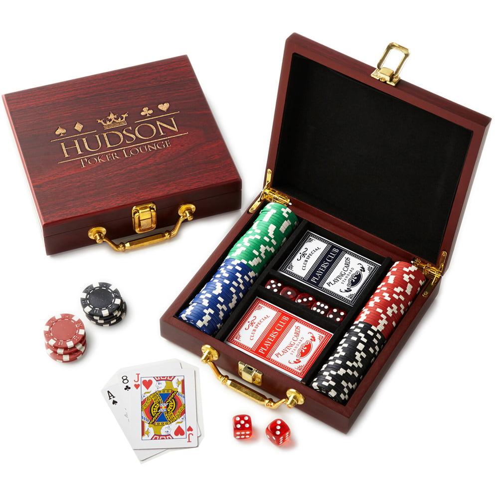Personalized RedEnvelope Poker Lounge Card Set