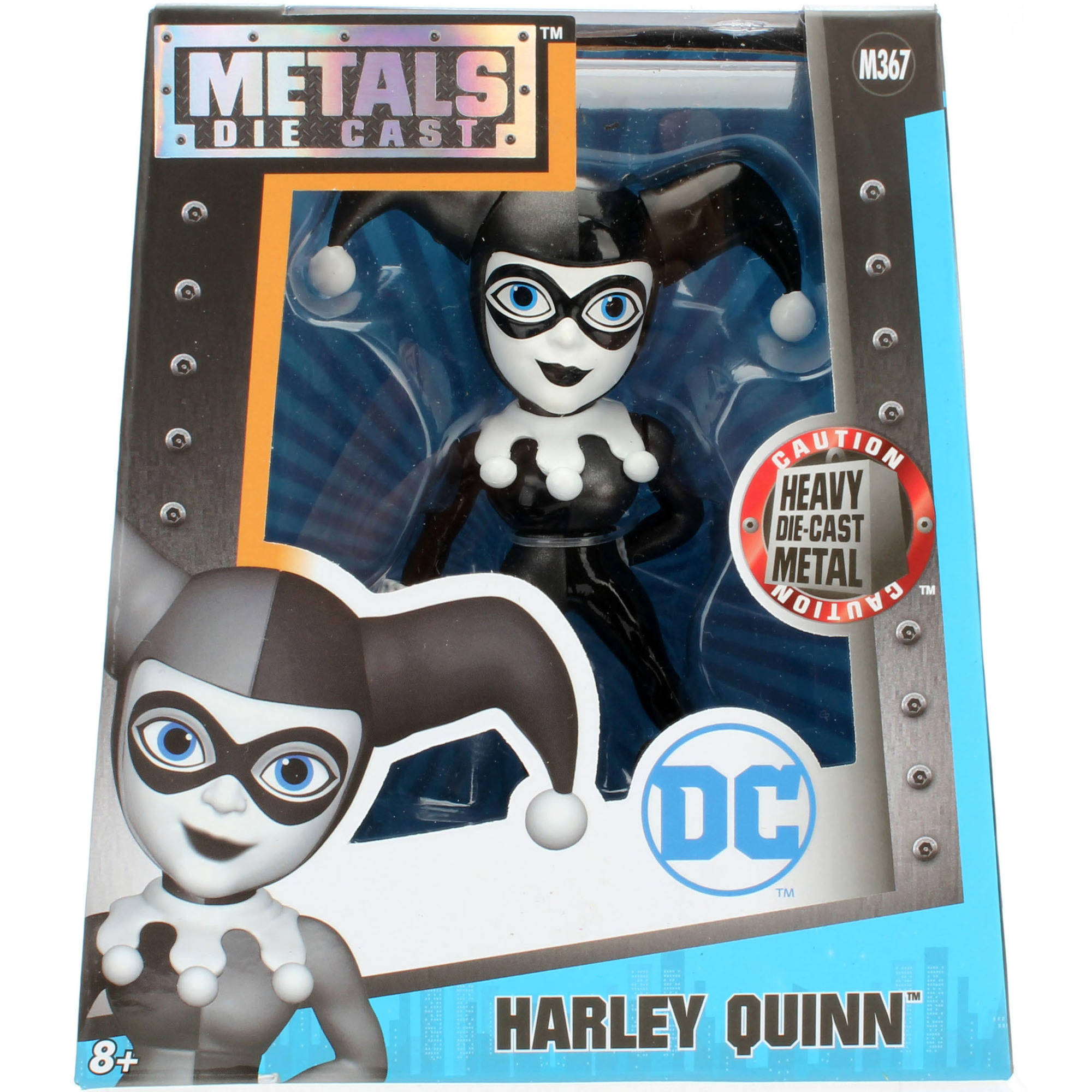 "Metals Die Cast 4"" Harley Quinn Figure by"