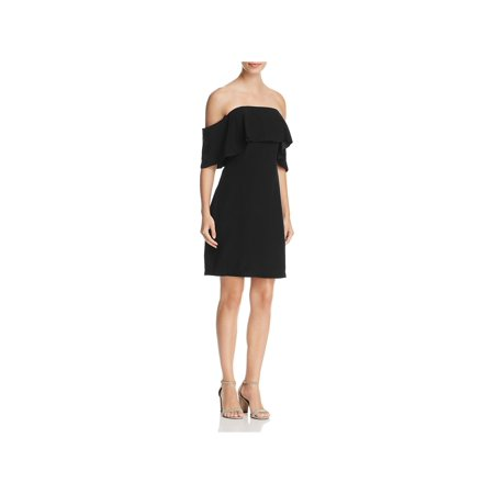 Cupcakes and Cashmere Womens Rudy Off-The-Shoulder Party Cocktail