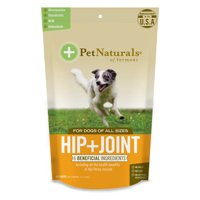 Pet Naturals of Vermont Hip + Joint Dog Chews, 60 Chewable Tablets