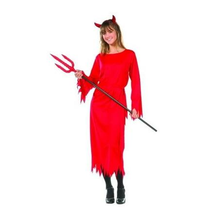 RG Costumes 78012 Devil Girl Costume - Size Teen 16-18](Teen Devil Costume)