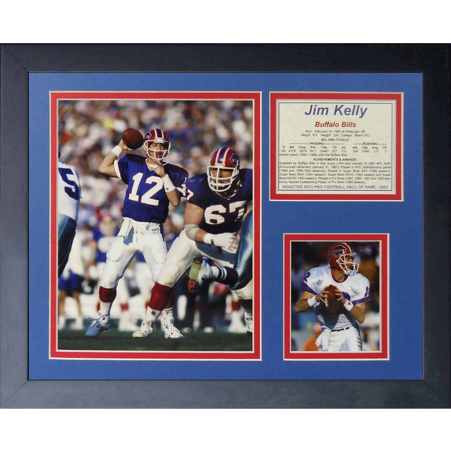 "Legends Never Die ""Jim Kelly"" Framed Photo Collage, 11"" x 14"""