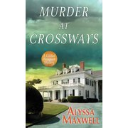 Murder at Crossways: A Gilded Newport Mystery (Hardcover)(Large Print)