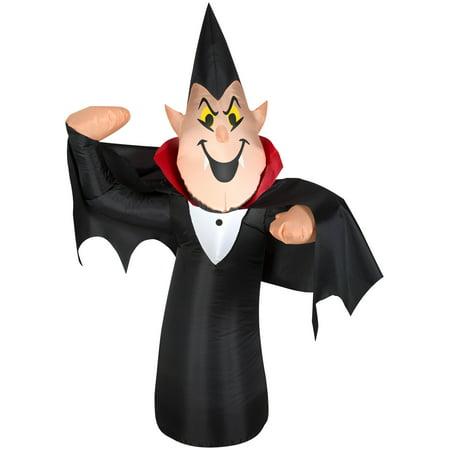 3.5' Airblown Skinny Vampire Halloween Inflatable (Halloween Sales Target)
