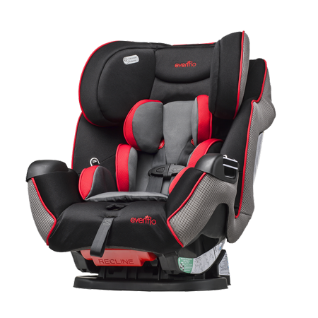 Evenflo Symphony LX All-in-One Convertible Car Seat,