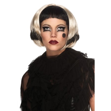 Lady Gaga Black and Blonde Wig Rubies 52601 - Lady Gaga Wig