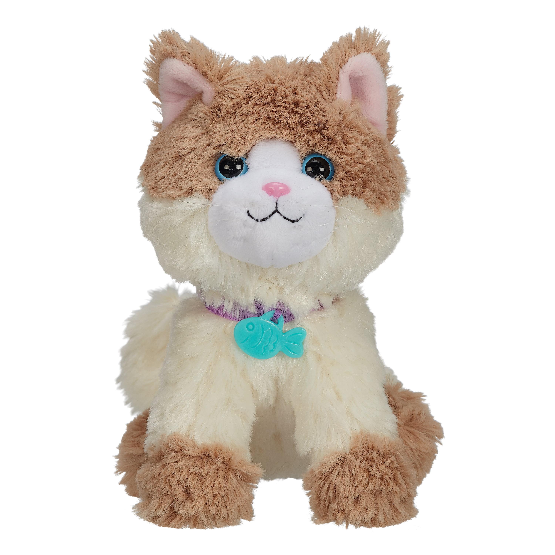 "My Life as Ragdoll Cat with Blue Eyes /& Fish Collar Tab Plush Pet for 18"" Dolls"
