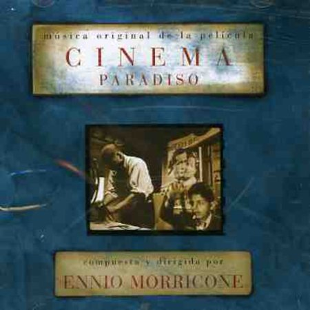 Cinema Paradiso Soundtrack (CD) (Love Theme Cinema Paradiso Sheet Music Violin)