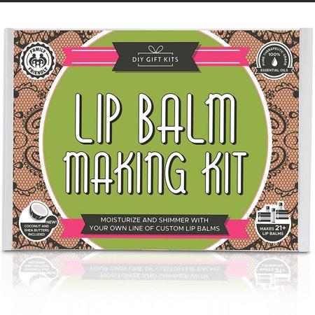 DIY Lip Balm Kit, Filling Tray Included