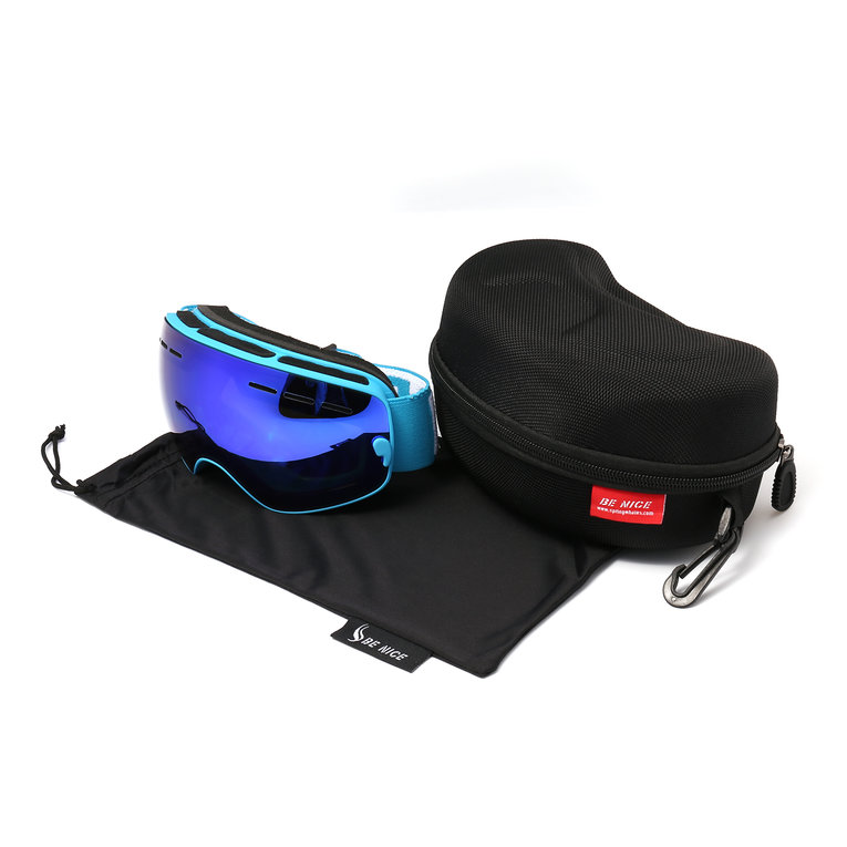 Children Durable Snow Ski Goggles Double Lens Anti-fog Windproof Mask Glasses on Clearance by SPECIAL