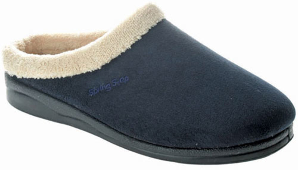 Women's Spring Step Slippers BLUE 36 M EU 5.5-6 M by