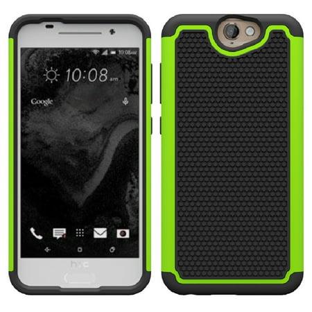 One A9 Case, HTC Aero Case, SOGA® [Smart Defender Series] Hybrid Grid Armor Case for HTC One A9 / HTC Aero (AT&T, Verizon, Sprint, T-Mobile) - - Greek Accessories