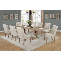 Best Quality Furniture Classic Style 9-Piece Dining Set