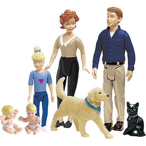 Ideal Decorator Family Figurines