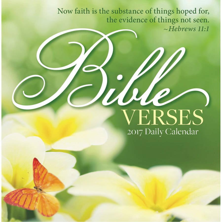 Bible Verses Desk Calendar Walmart Com