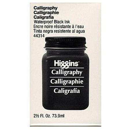 Higgins Calligraphy Waterproof Black Ink (Black)