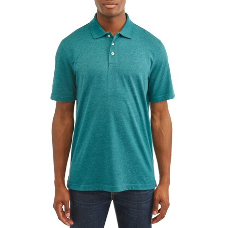Mens Water Polo Suits - George Men's Short Sleeve Solid Polo Shirt