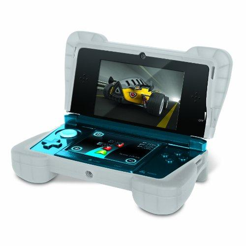 Dreamgear Dg3ds-4218 Portable Gaming Console Skin - Portable Gaming Console - Clear - Silicone (dg3ds-4218)