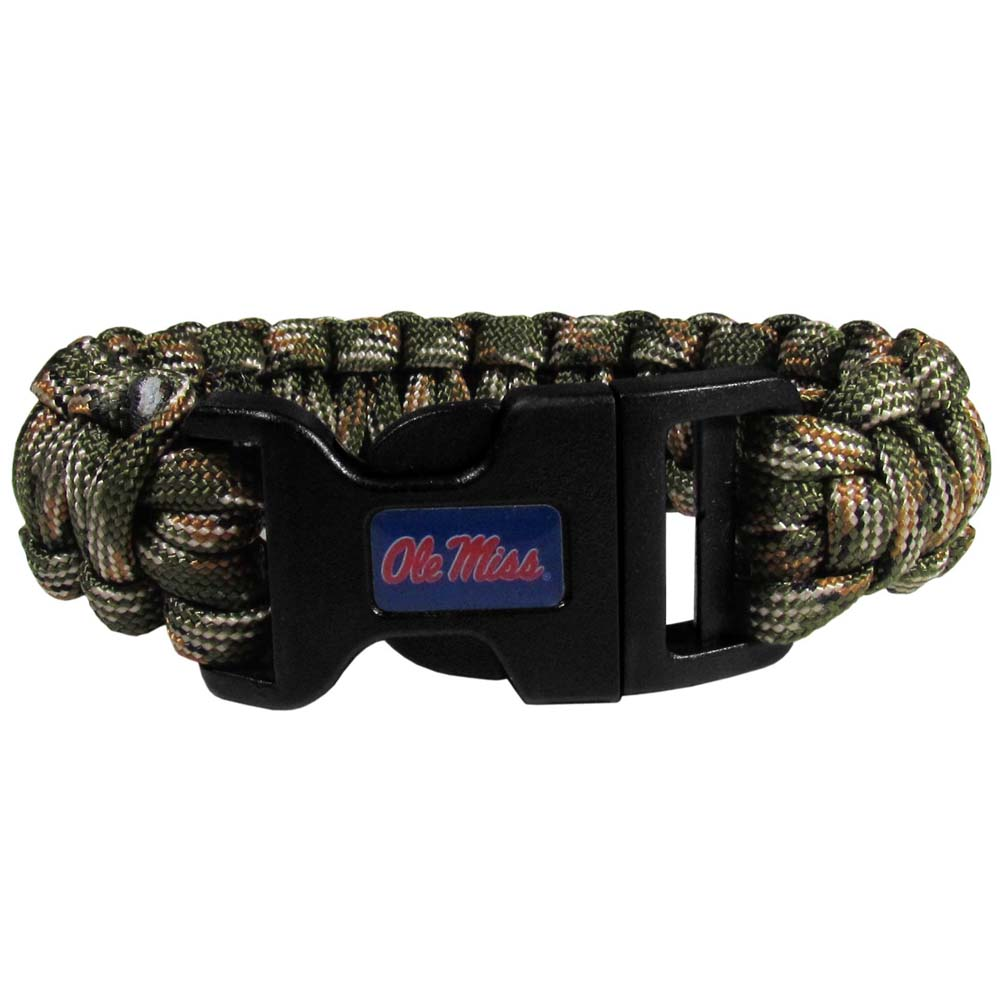 Mississippi Rebels Camo Survivor Bracelet (F)