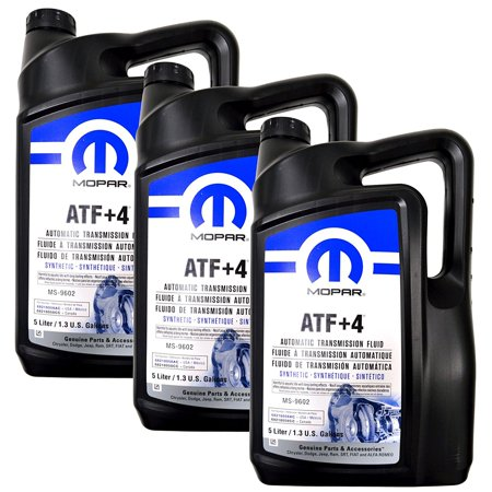 Mopar 68218058AC ATF+4 Automatic Transmission 1.3 Gal Fluid, 1 Case (3 in Total) Mopar Automatic Transmissions