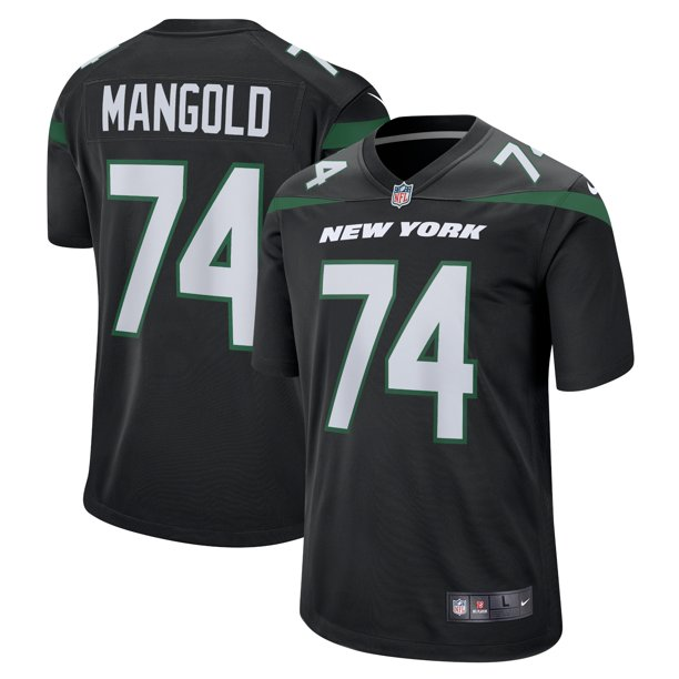 Nick Mangold New York Jets Nike Retired Player Jersey - Black