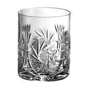 Majestic Crystal Pinwheel 14 oz. Crystal Whiskey Glass (Set of 4)