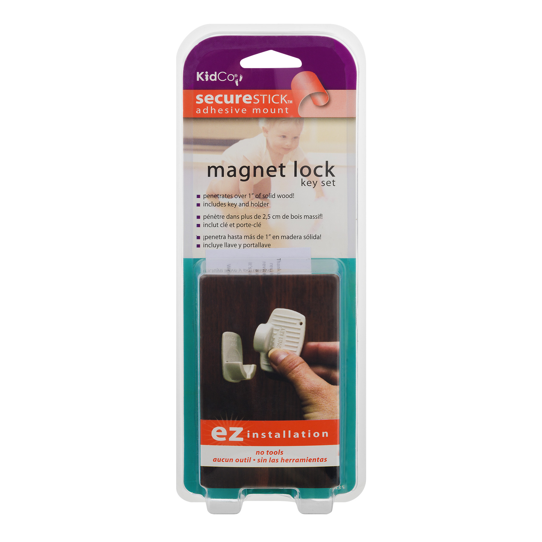 Kidco Magnet Lock Key Set, 1.0 CT