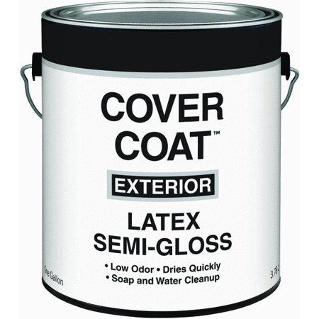 Guardian contractor grade 1 gallon white latex house paint semi gloss set of 4 - Wickes exterior gloss paint set ...