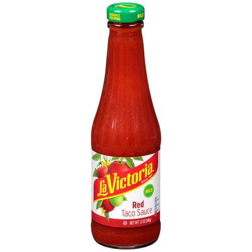 La Victoria Mild Red Taco Sauce, 12 oz