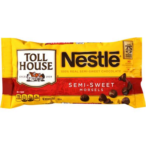 Nestle Toll House Semi-Sweet Chocolate Morsels, 6 oz