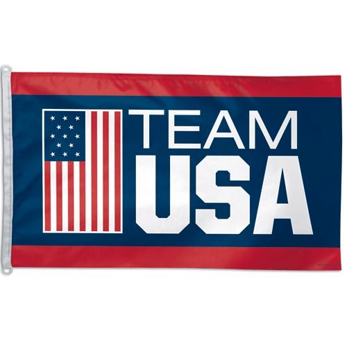 Team USA Official OLYMPICS 3ftx5ft Banner Flag by Wincraft