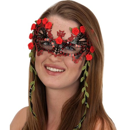 Senorita Day of Dead Of Dead Mask](Day Of The Dead Face Mask)