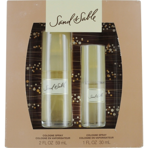 Sand & Sable Set-Cologne Spray 2 Oz & Cologne Spray 1 Oz By Coty