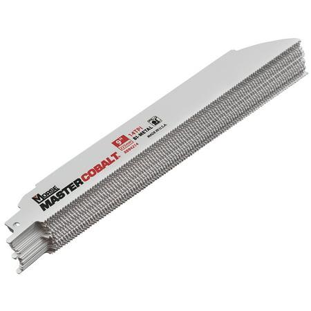- 25 Pc Set Pack MK Morse Master Cobalt Bi-Metal Reciprocating Saw Blades 9