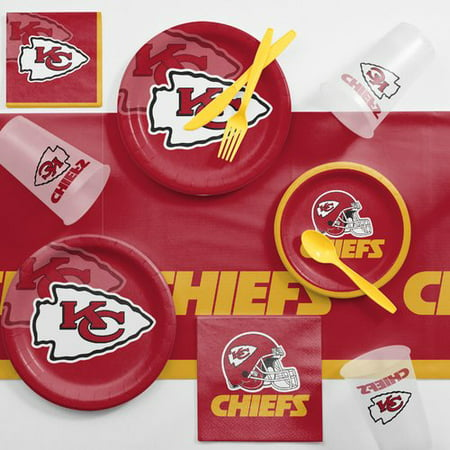 Kansas City Chiefs Game Day Party Supplies Kit - Paty City Com