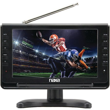 NAXA NT-90 9″ Portable TV & Digital Multimedia Player