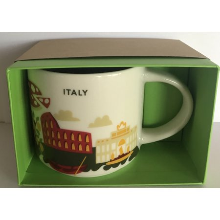 Starbucks You Are Here Collection Italy Ceramic Coffee Mug New With Box ()