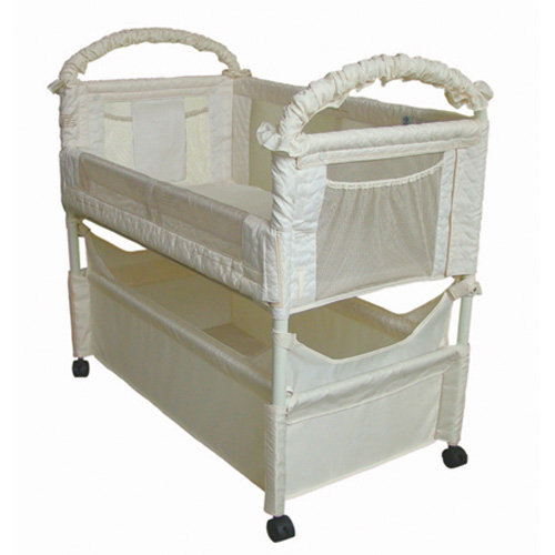 Clear-VUE Co-Sleeper - Coco Fern