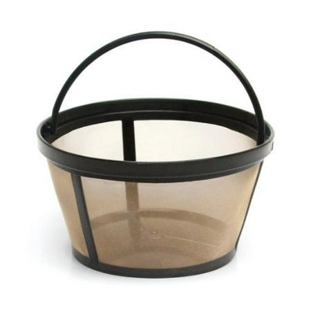 Mr. Coffee GTF2-1 Basket-Style Gold Tone Permanent Filter - NEW (Permanent Gold Tone Coffee Filter)