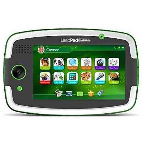 Refurbished LeapFrog LeapPad Platinum Kids Learning Tablet, Green by