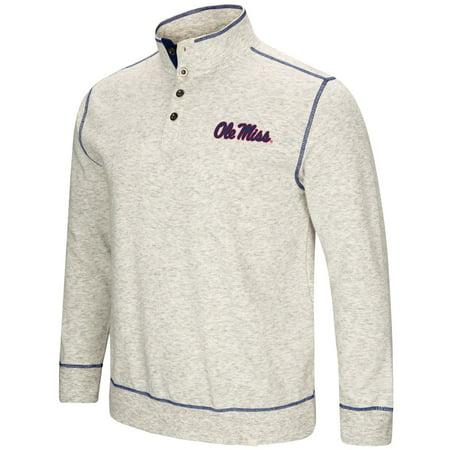Mississippi Ole Miss Rebels Men's NCAA Bowl Game 1/2 Button Up Henley Sweatshirt