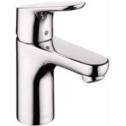 Hansgrohe 04371820 Focus Bathroom Faucet Single Hole with Lever Handle EcoRight, Various Colors