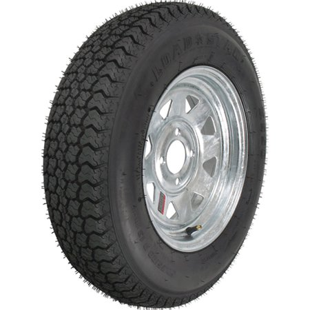 Loadstar Bias Tire and Wheel (Rim) Assembly ST205/75D-14 5 Hole C -