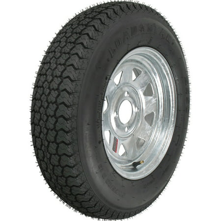 Loadstar Bias Tire and Wheel (Rim) Assembly ST205/75D-14 5 Hole C