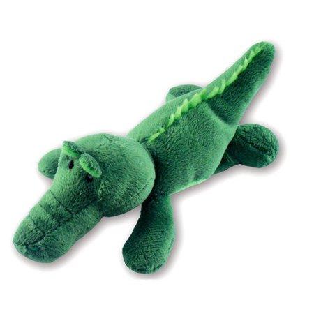 Puzzled Plush Magnet, Alligator