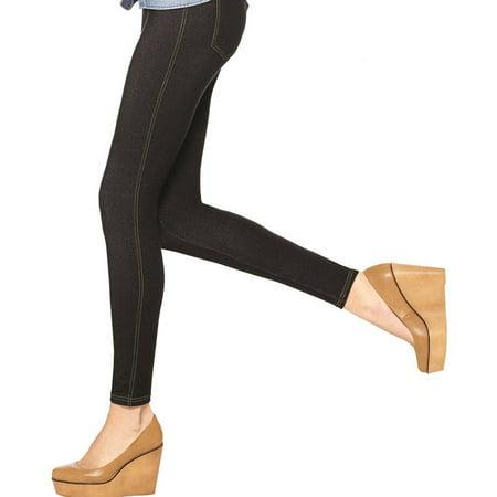 Women's Denim Leggings (Women's Wicked Witch Of The West Leggings)