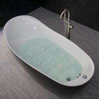 WOODBRIDGE B-0031 Deluxe Air Bubble Free Standing Bathtub, B-0031 Air Bubble Tub