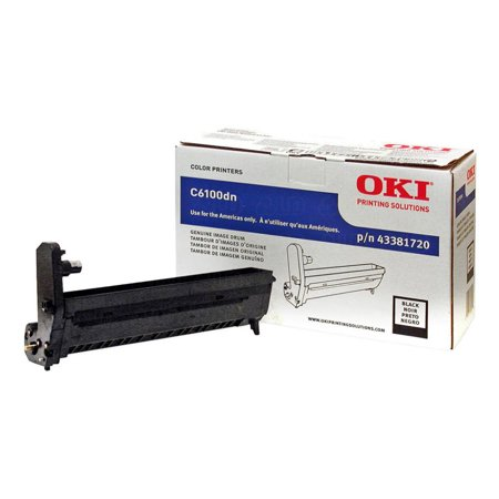Okidata 43381720 Drum Unit for C6100, C5550, C6150;